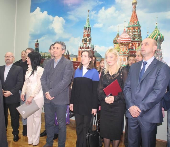 U gimnaziji svečano otvoren ruski kutak