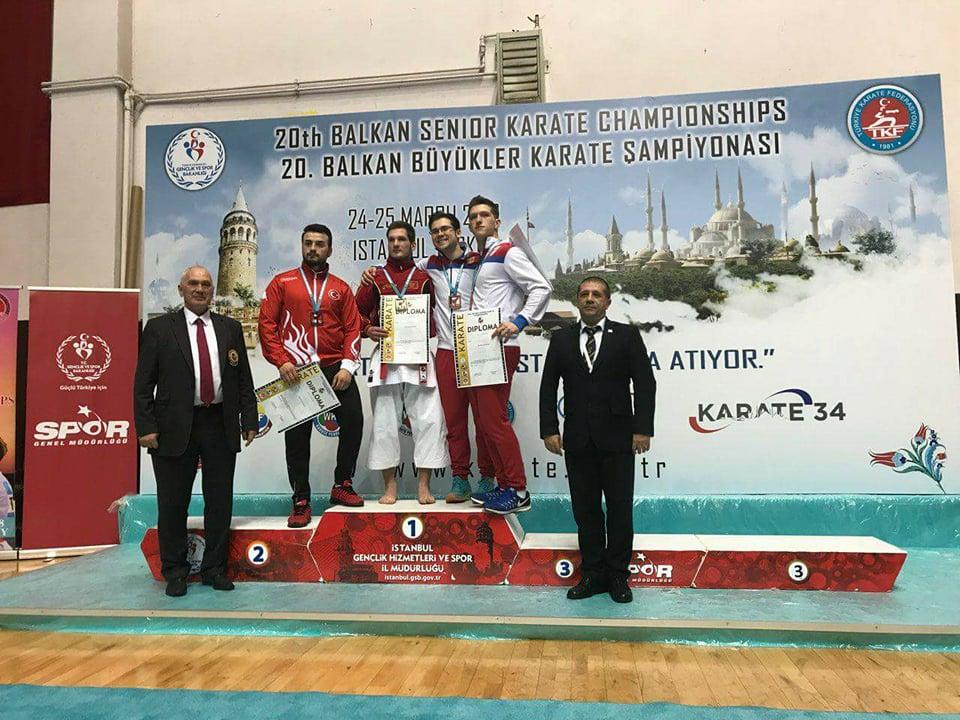 Bronza za niškog karatistu  na Balkanskom šampionatu