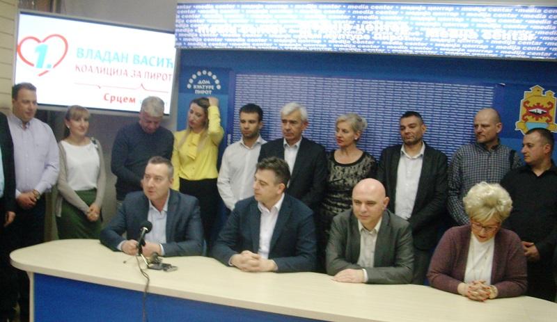 Vladajućoj Koaliciji za Pirot pristupila dva nova odbornika sa liste LDP-SDS