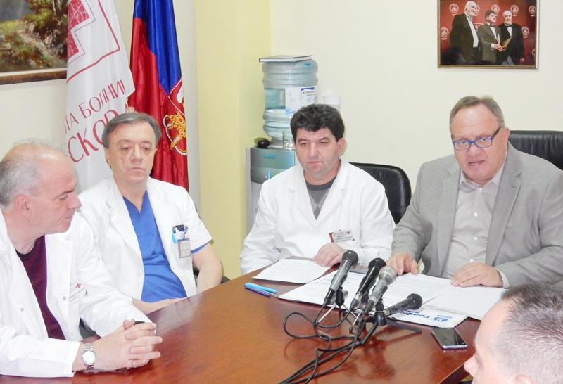 Cvetanović i Dimitrijević: Leskovačka bolnica uz rame kliničkim centrima