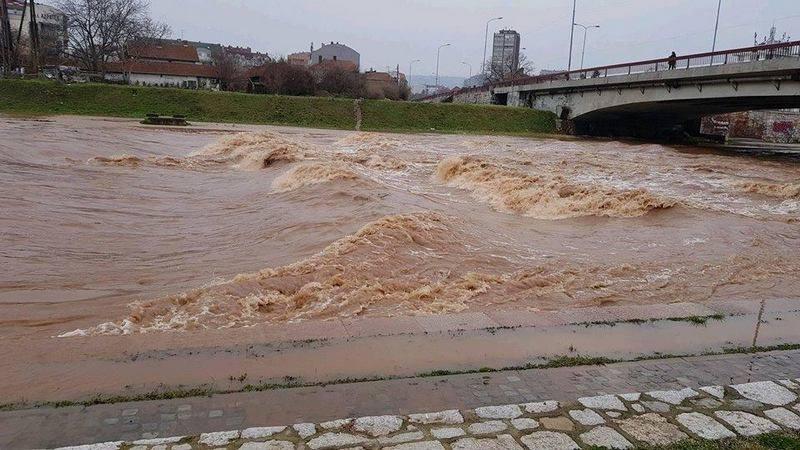 Opada nivo svih reka u niškom kraju