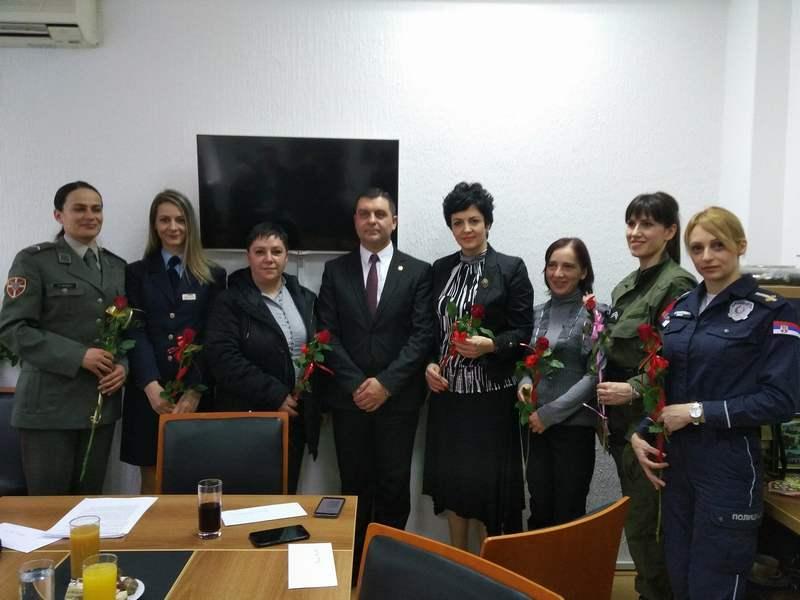Žene specifičnih zanimanja gošće opštine Medijana