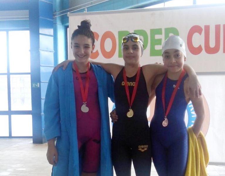 PK LESKOVAC 11 plivača osvojilo 17 medalja u Boru