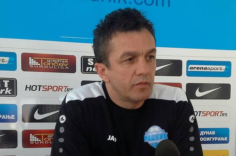 Simo Krunić, trener Radnika: Fudbal je stalno dokazivanje