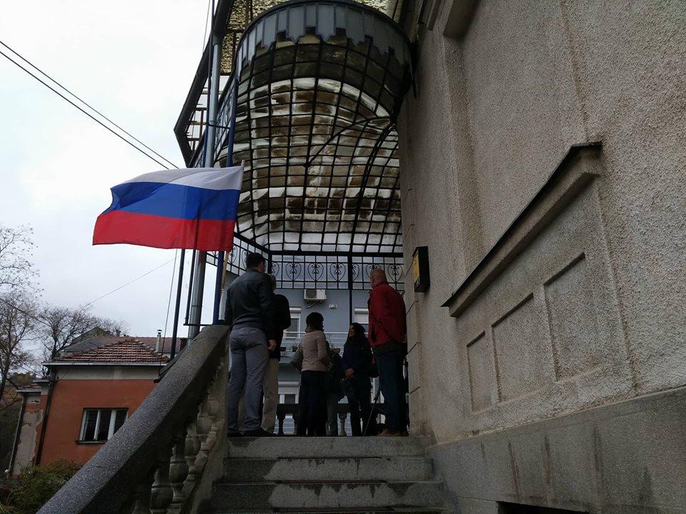 Rusi u Nišu glasali predsednika