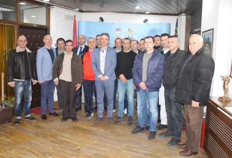 Priređen prijem za borce sa karaula na Kosovu i Metohiji