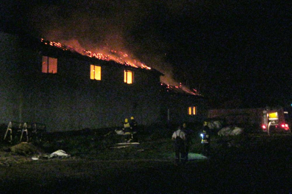 Izgorela fabrika nameštaja