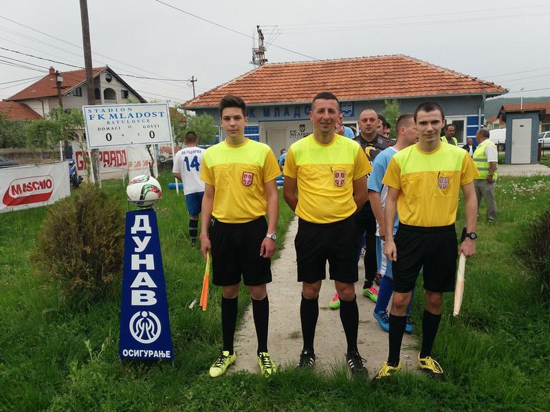 Međuopštinska liga: Mladost (B) – Radnički (P) 5:0