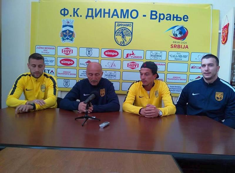 FK Dinamo očekuje pobedu u subotnjoj utakmici