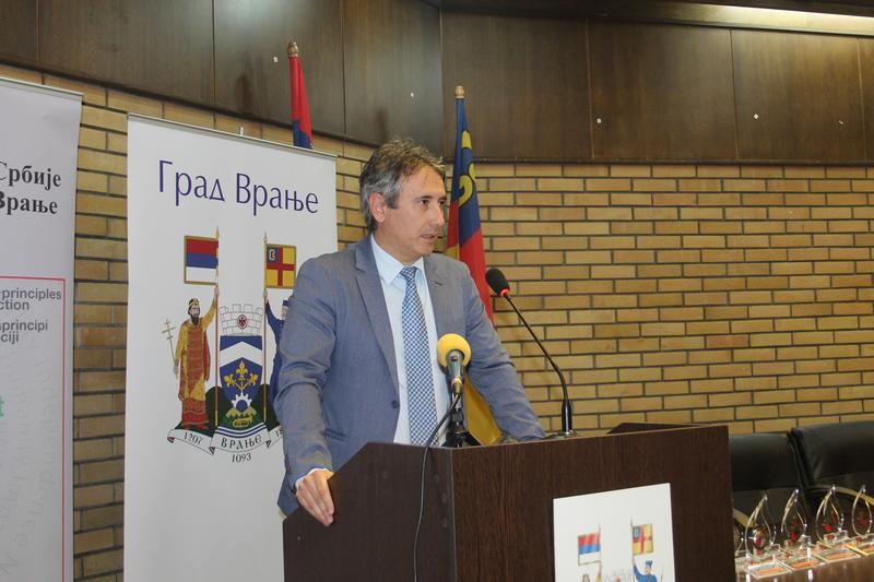 Gradonačelnik Vranja na Skupštini NALED-a