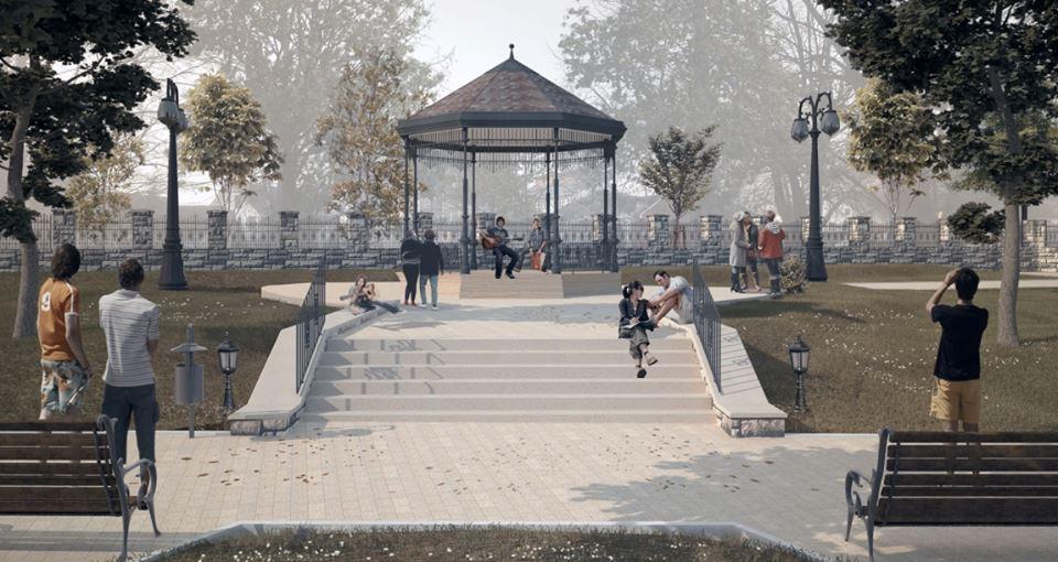Rekonstrukcijom gradski park dobija fontanu i muzički paviljon