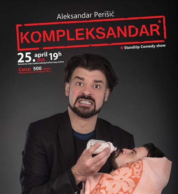 Veče stand up komedije sutra u Leskovcu