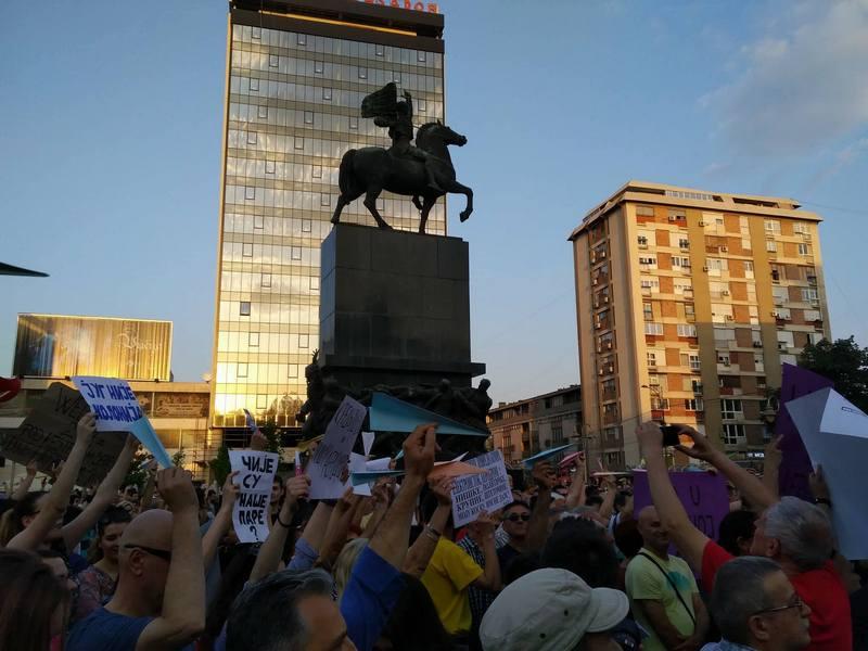 Protesti iz Beograda se šire i na Niš
