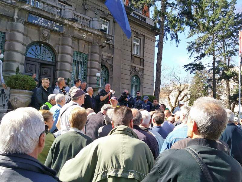 Posle dve godine protesta radnicima obećan prijem u Vladi Srbije