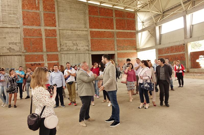 Udovičić : Leskovac će do kraja godine imati modernu sportsku halu