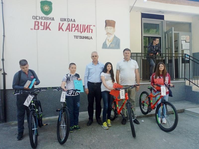 Učenik Mateja Stanojević iz Vlasotinca najbolji poznavalac saobraćjnih pravila