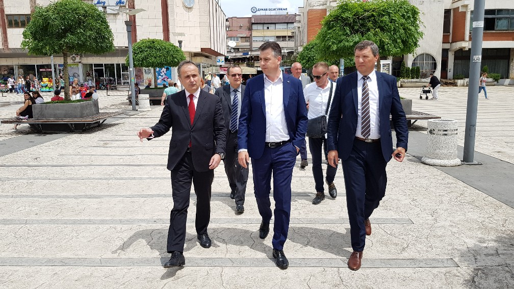Diplomatska delegacija Hrvatske u poseti Pirotu