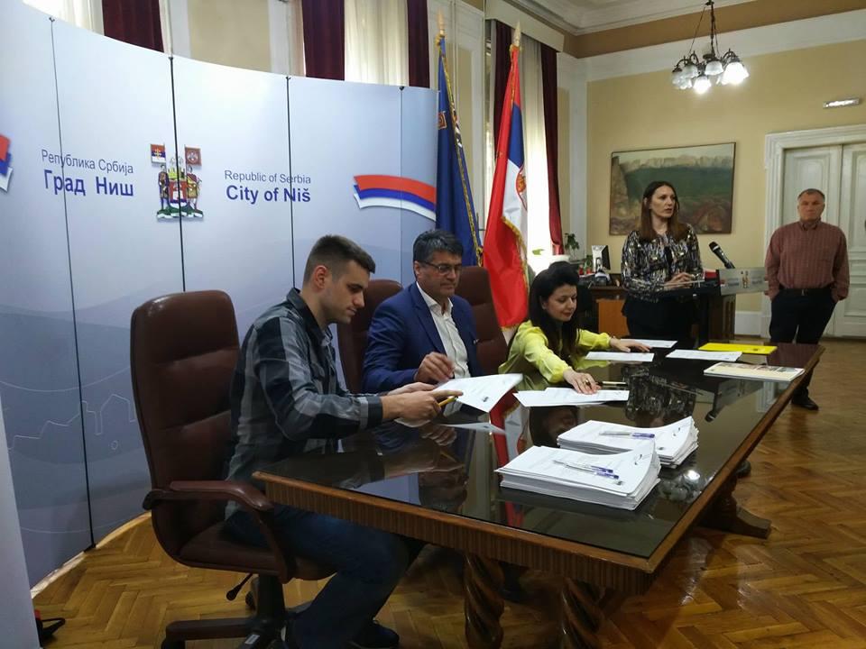 Help i grad Niš donirali opremu vlasnicima 50 malih firmi