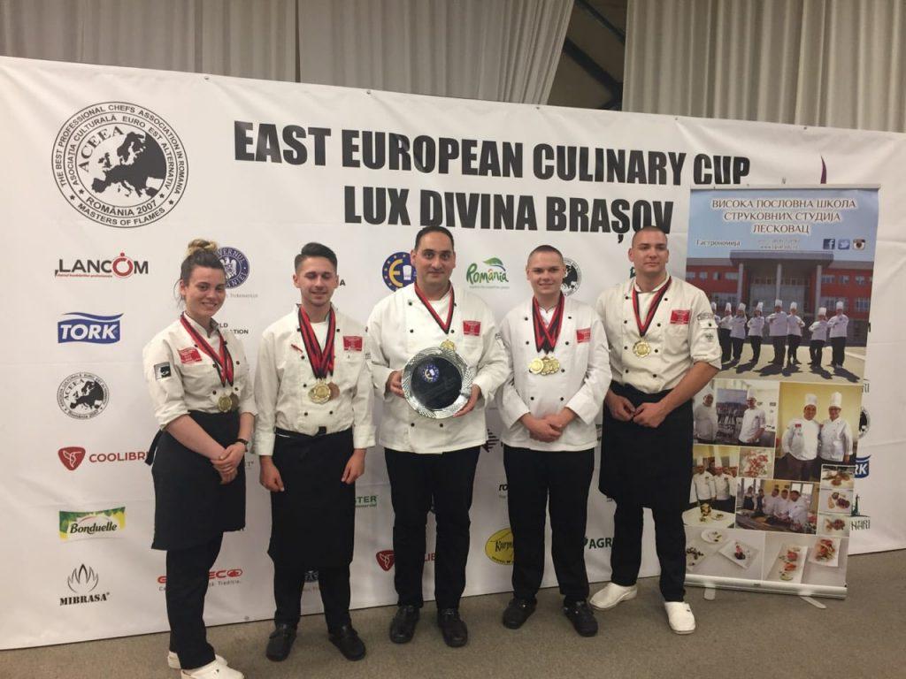 Leskovački kuvari se iz Rumunije vraćaju ponovo okićeni zlatom