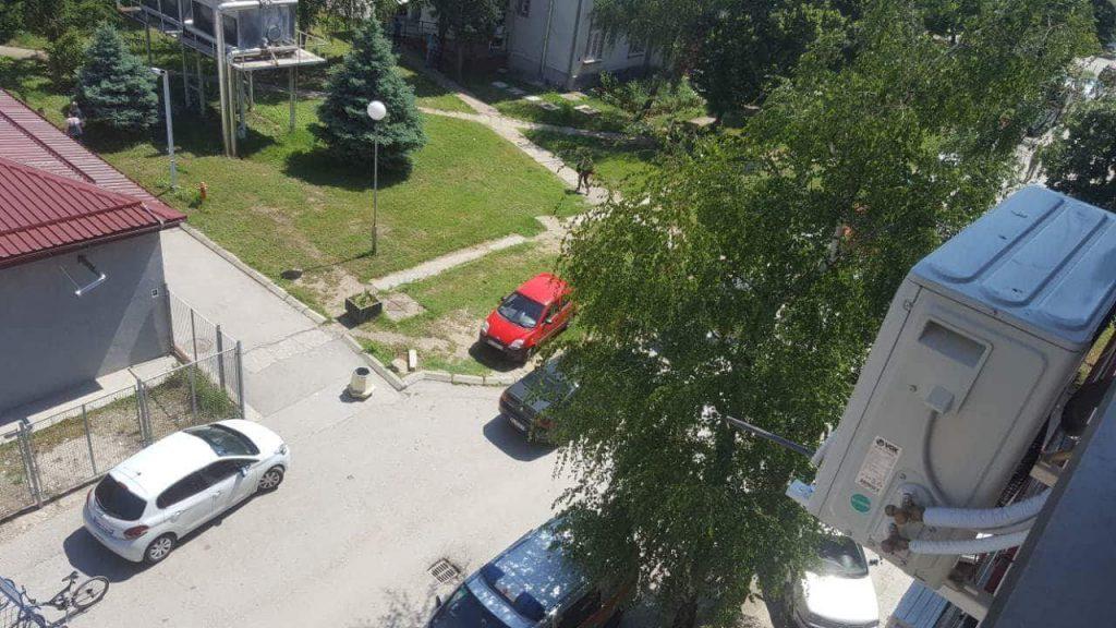 Otkaz zbog parkiranja na zelenoj površini