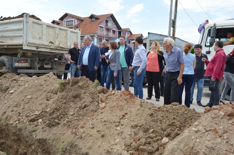 Počela gradnja kanalizacione mreže u Ančiki