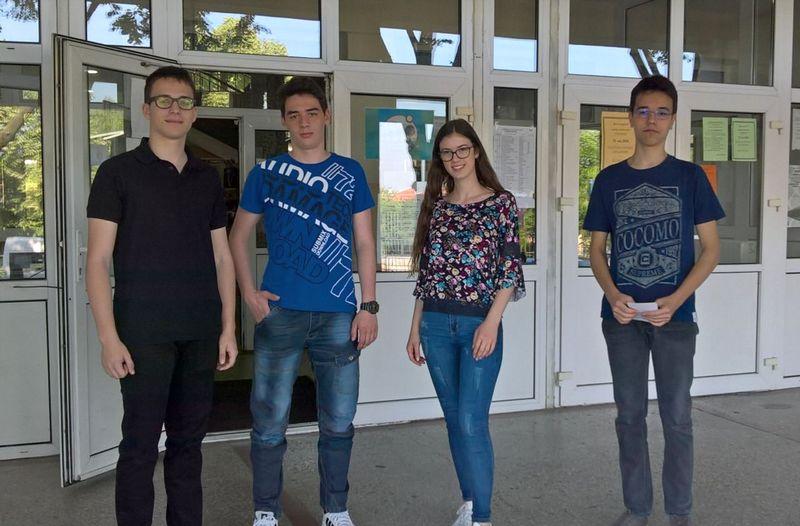 Učenici Gimnazije osvojili treću nagradu na Matematičkom turniru