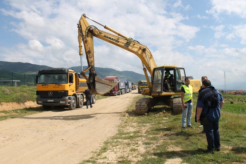 Počeli radovi na izgradnji saobraćajnice i kružnih tokova u Slobodnoj zoni