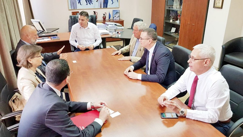 Bugarska diplomatska delegacija u Pirotu