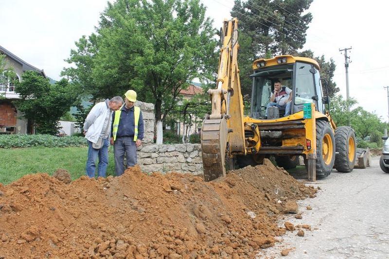 Počela izgradnja vodovodne mreže u prigradskom naselju Balinovac