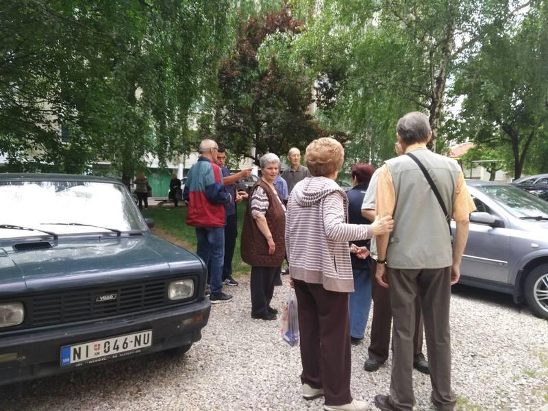 Stanari u Nišu: Ne damo park ni po cenu života