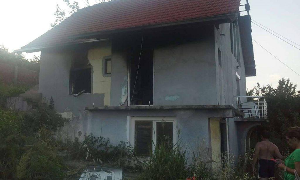Izgorela Milančetova kuća
