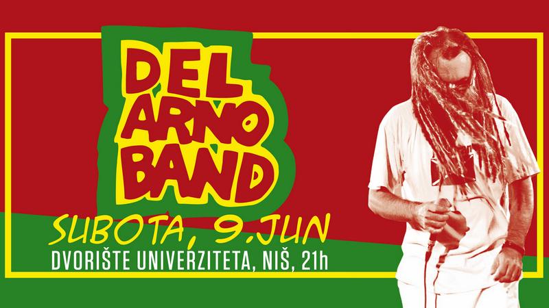 DEL ARNO BAND u subotu nastupa u Nišu!