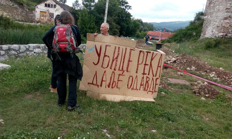 Piroćanci nastavljaju borbu protiv izgradnje mini hidrocentrala