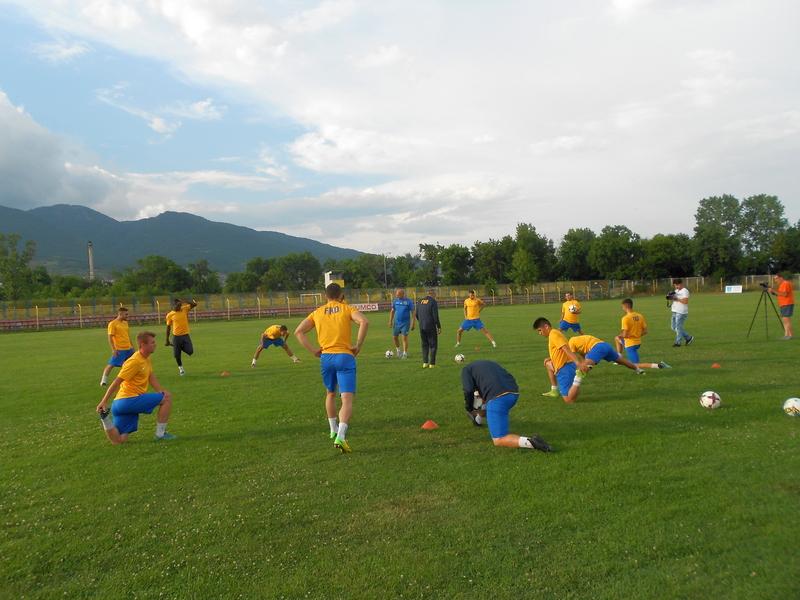 Fudbaleri Dinama na pripreme u Bansko