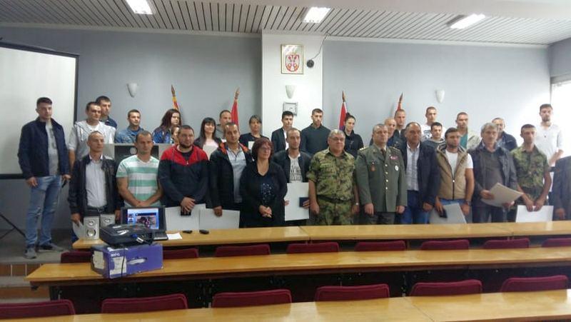 Ministarstvo odbrane dodelilo značke za 58 dobrovoljaca