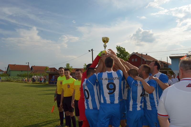 FK Jedinstvo: Slavlje povodom plasmana u viši rang takmičenja