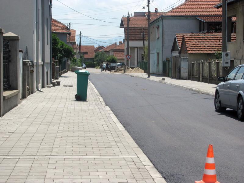Asfaltirane još dve ulice u gradu