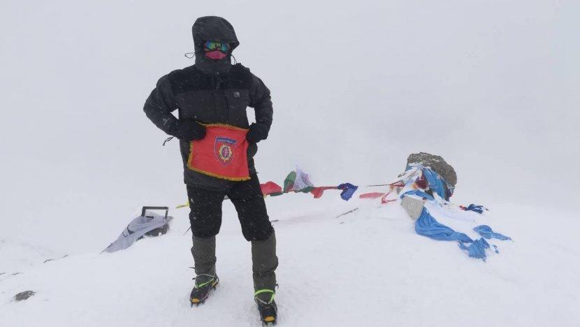 Niški žandarmerac na vrhu Kavkaza