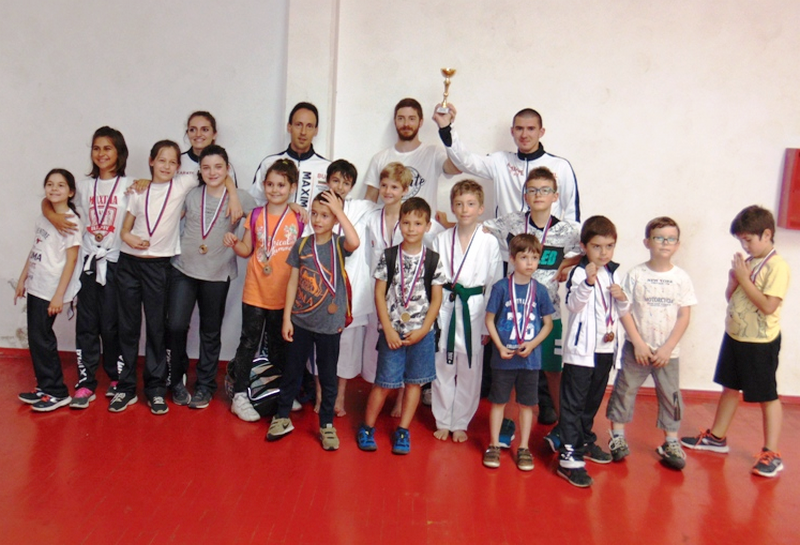 MEDVEĐA Diani Kosumi zlato na karate turniru Šotokan federacije