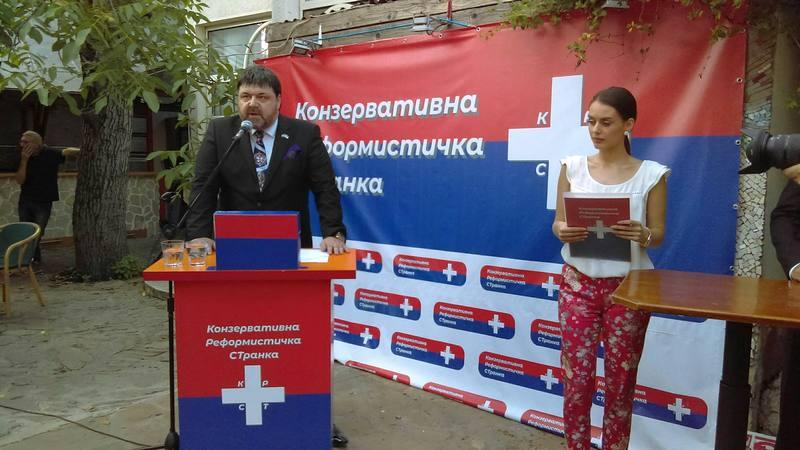 Konzervativna reformistička stranka predstavila se Nišlijama