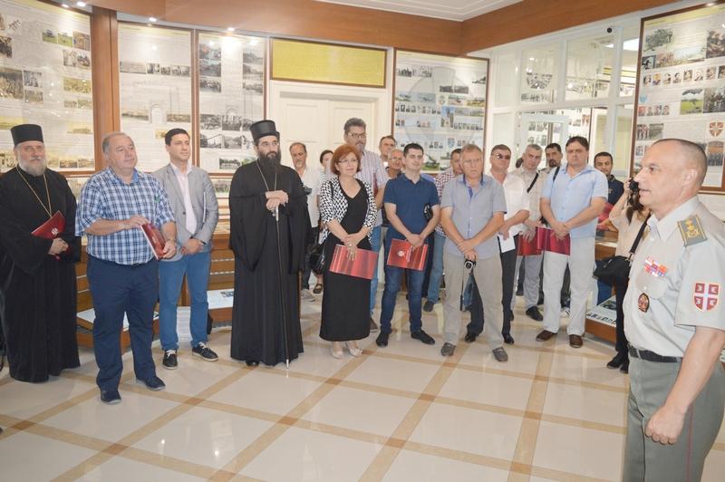 Zahvalnice i Leskovčanima za formiranje Muzeja Kopnene vojske