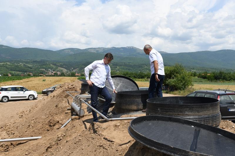Sela Izvor i Berlovac dobijaju kanalizaciju
