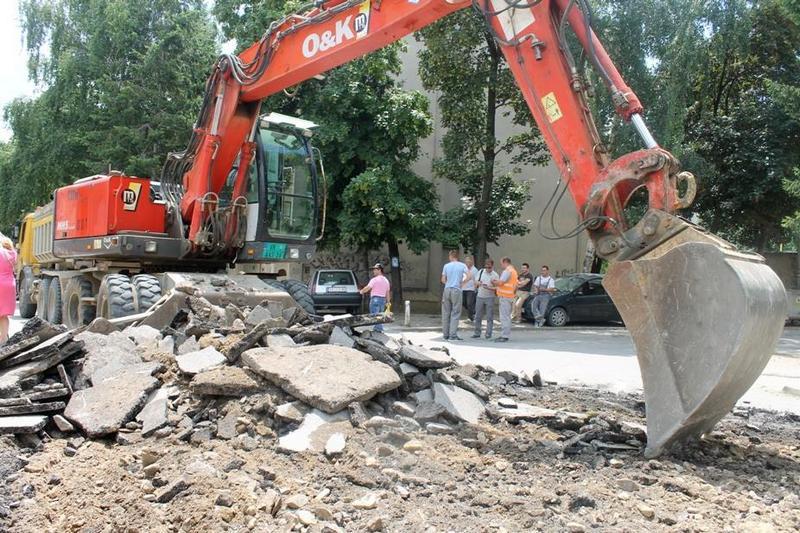 Rekonstrukcija Lungine ulice za početak Komunalnog programa