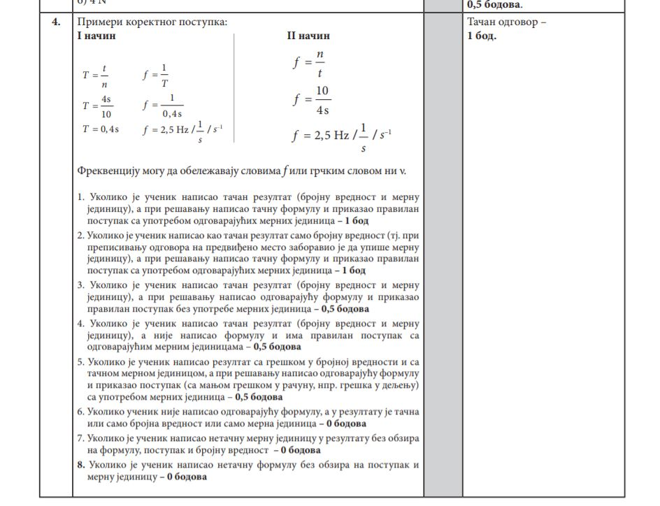 Ovo je rešenje formule koja je najviše mučila osmake na kombinovanom testu