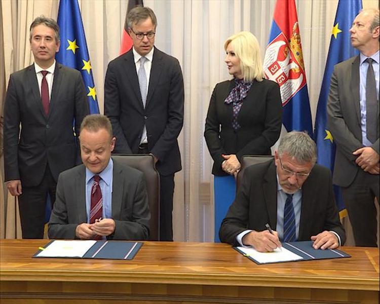 Potpisani ugovori sa KfW-om za rešavanje problema otpadnih voda