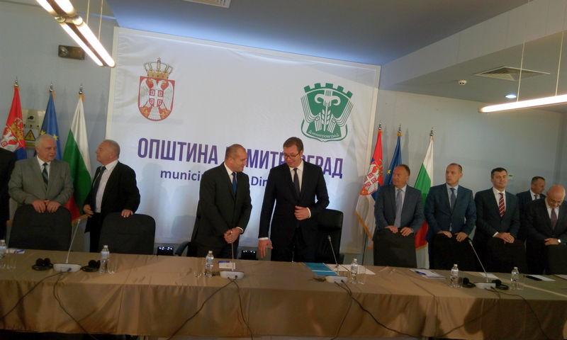 Vučić i Radev u Dimitrovgradu: Nova stranica saradnje dva naroda i države