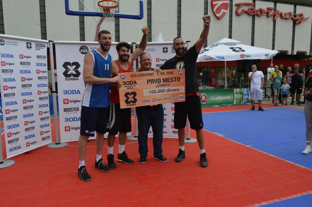 Leskovčani osvojili 100 hiljada na basket turniru