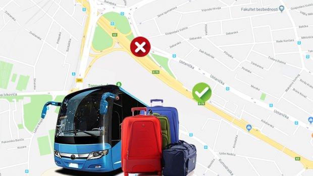 Beograđani zabranili južnjacima da izlaze iz autobusa na Autokomandi