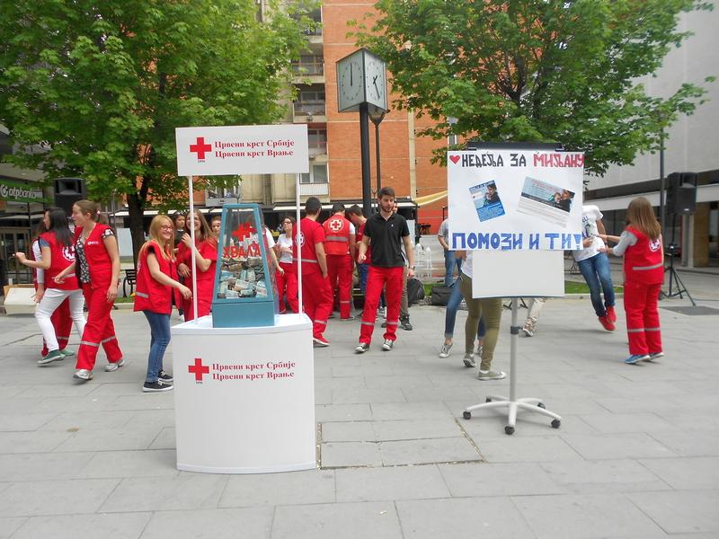 Petodnevna ulična akcija davanja krvi