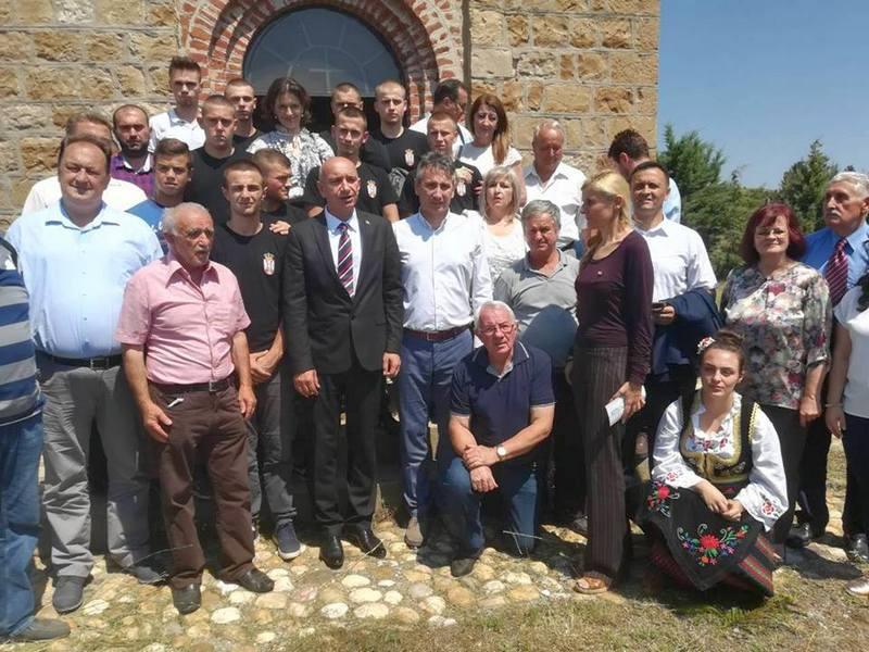 Delegacija Vranja na obeležavanju godišnjice Bregalničke bitke